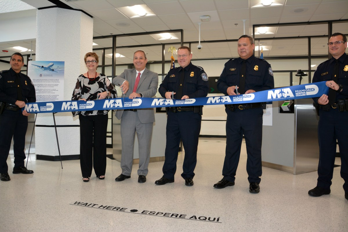 MIA ribbon-cutting