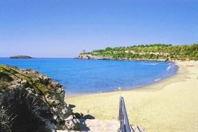 spiaggia hotel calanca