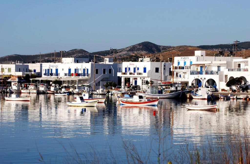 Antiparos port