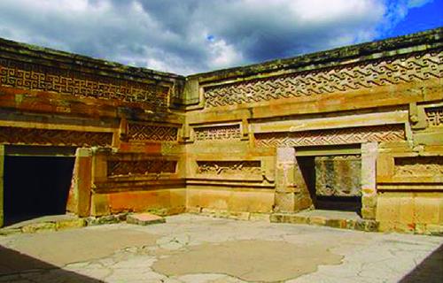 mitla en Oaxaca