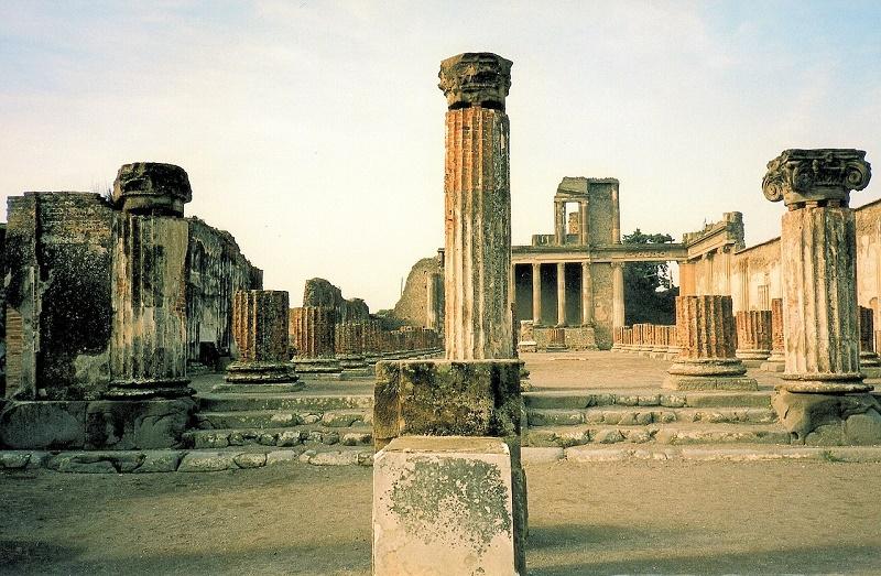 imagem-das-ruínas-da-pompeia