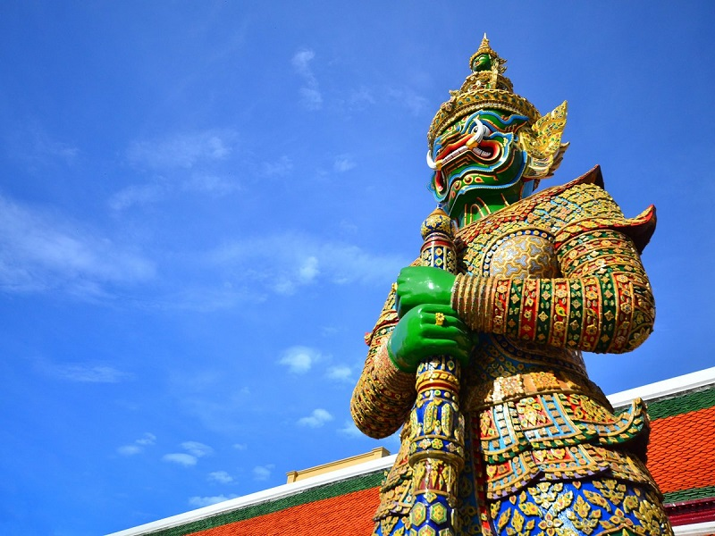 imagem-de-estatua-tailandesa