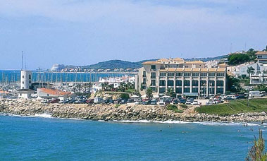vista exterior hotel estela barcelona
