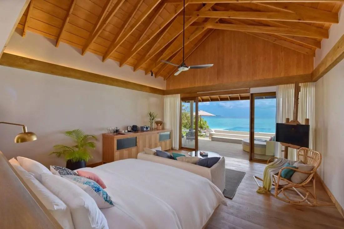 Literie De Luxe Suisse room numbergrand litier : le luxe à faarufushi maldives
