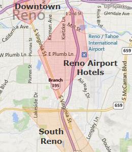 Reno Hotels Casinos Map Edi Maps Full HD Maps - Reno nevada casino map