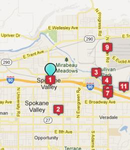 map school spokane