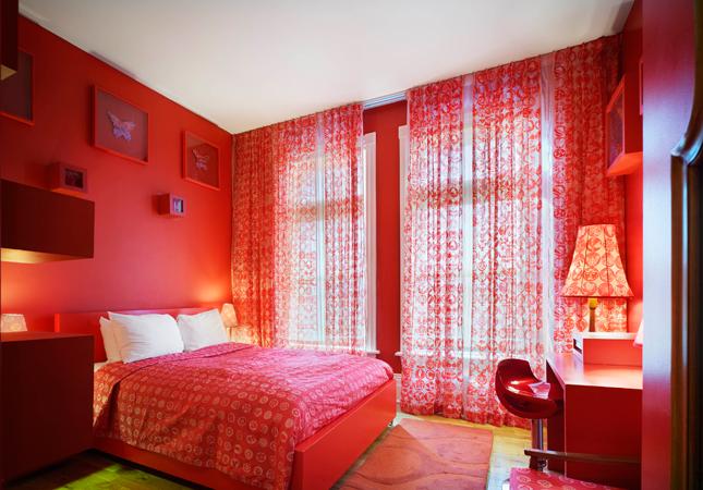 Arty Hotel Room Designs At Gladstone Hotel Hotel Logics