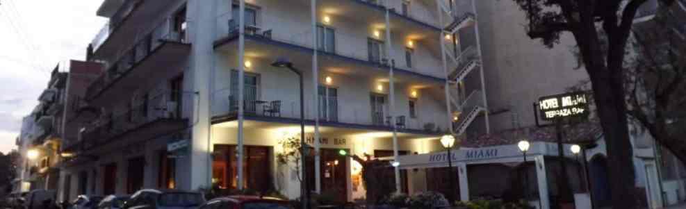 Hotel Miami de Tossa de mar de nit