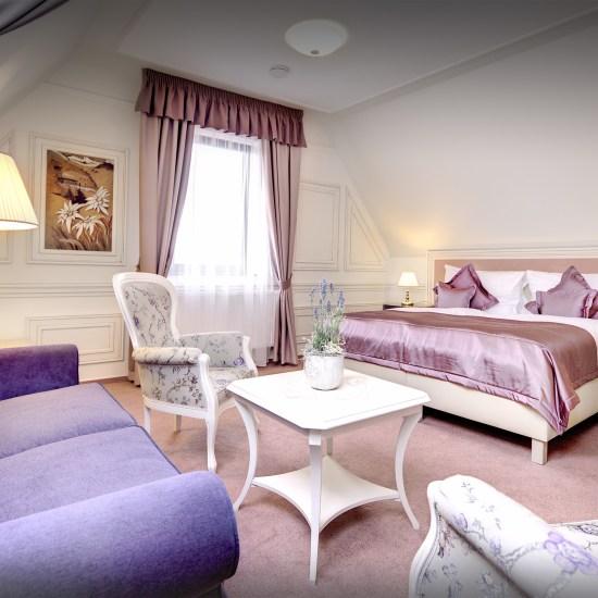Provensalsky styl hotelove izby Hviezdoslav