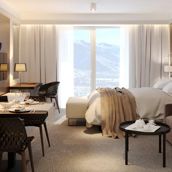 Luxusne vybavenie hoteloveho interieru