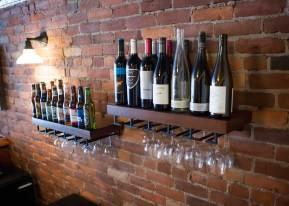 Wine & glasses