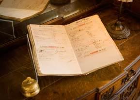 Old guest register