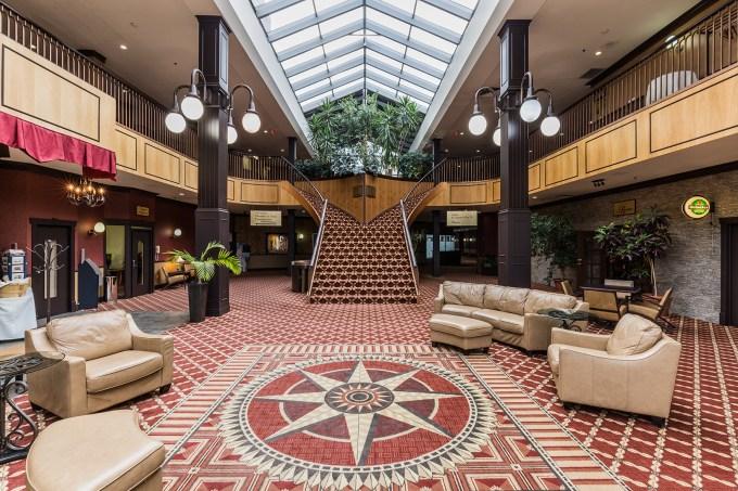 Hall d'entrée - Hôtel Rimouski