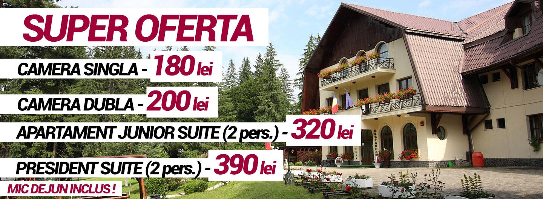 Oferte speciale cazare Poiana Brasov - Hotel Ruia