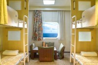 Angriya Cruise Bunk Rooms
