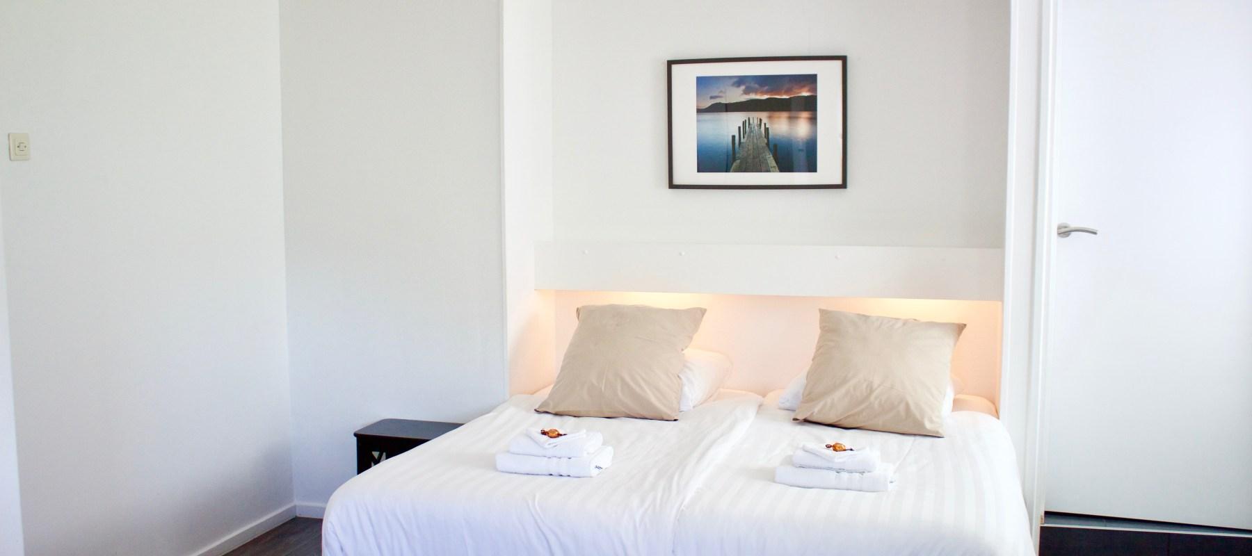 Ruime kamers met- en zonder balkon
