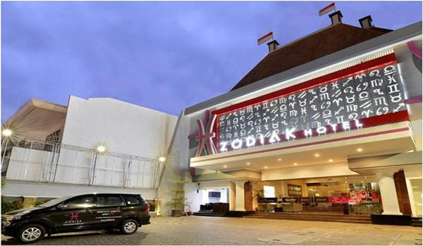 Gedung Hotel Zodiak Kebon Jati Bandung