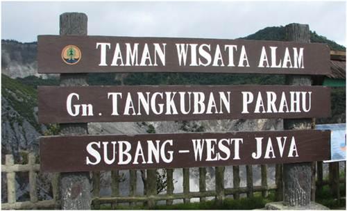 Objek Wisata Gunung Tangkuban Perahu
