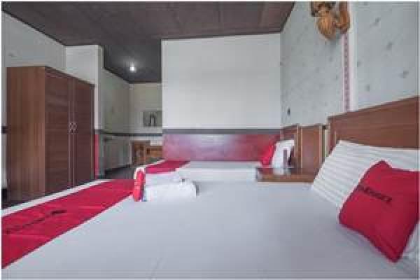 Salah Penginapan Murah Dekat Tebing Keraton Bandung yang Rekomendeed Hotel RedDoorz @ Maribaya Street