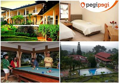 Alfa Resort Villa Murah di Puncak Cisarua Ada Kolam Renang