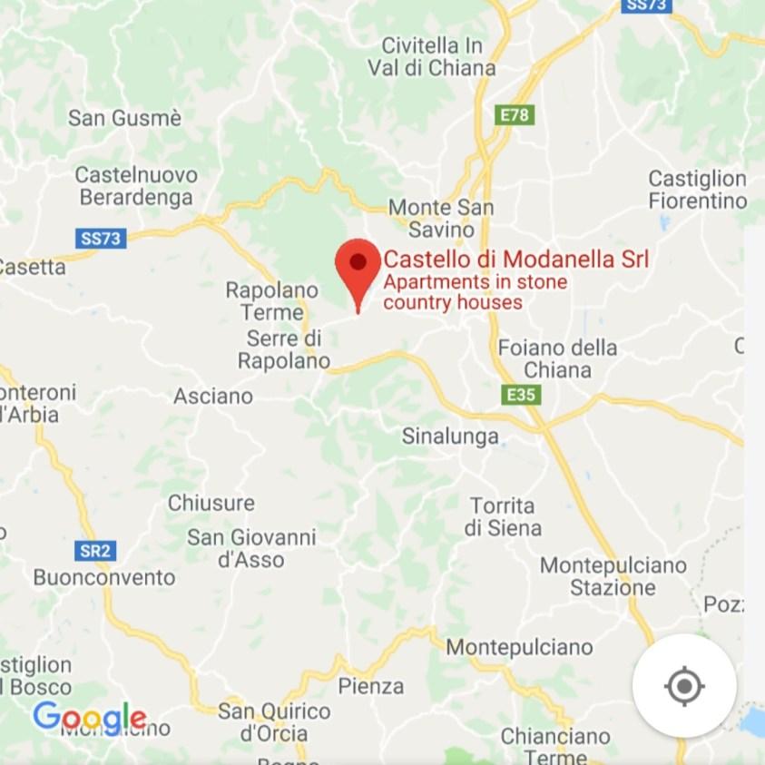 Hotels Near Trains | Italy Castle Hotels | Castello di Modanella