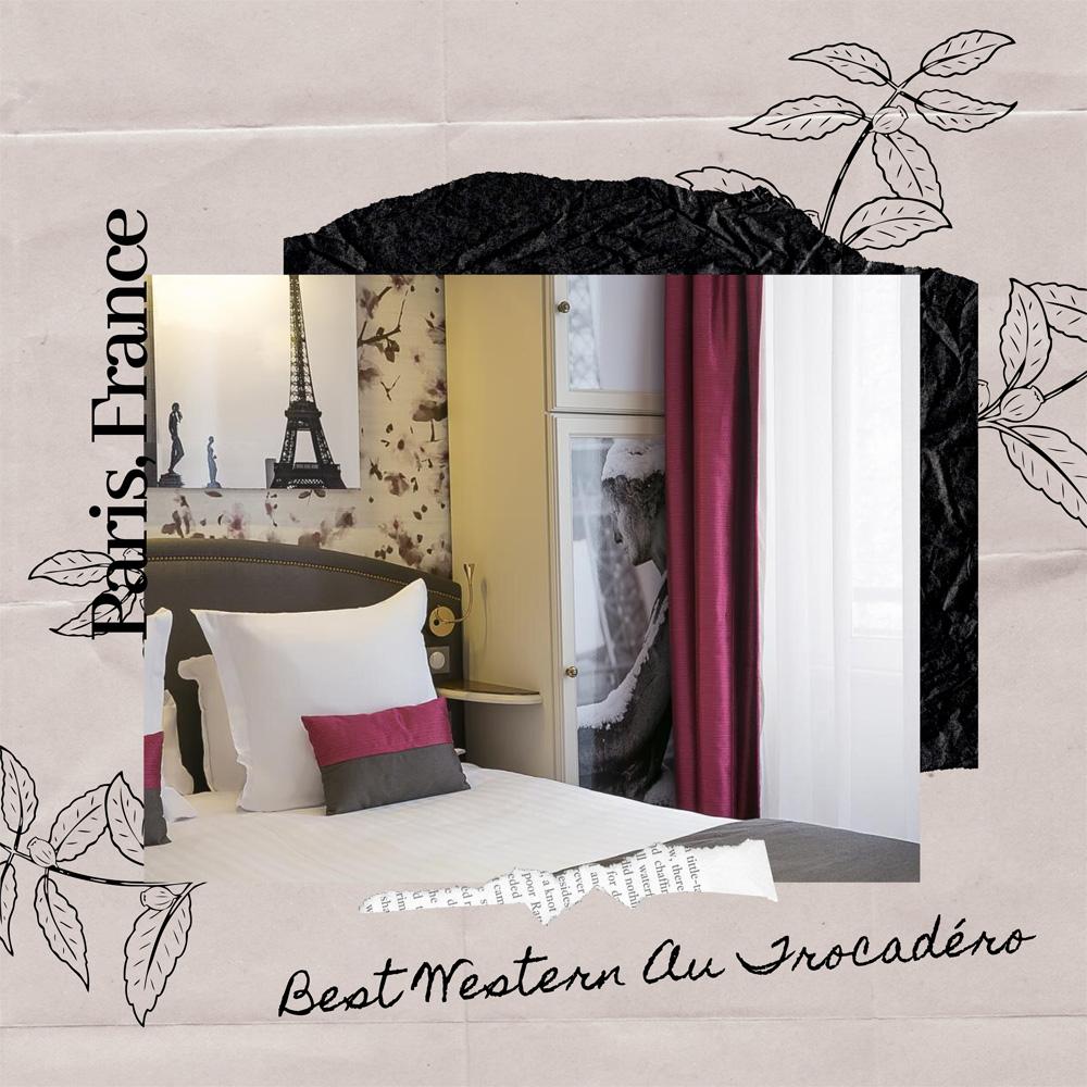 Hotels Near Trains | Paris | Best Western Au Trocadéro