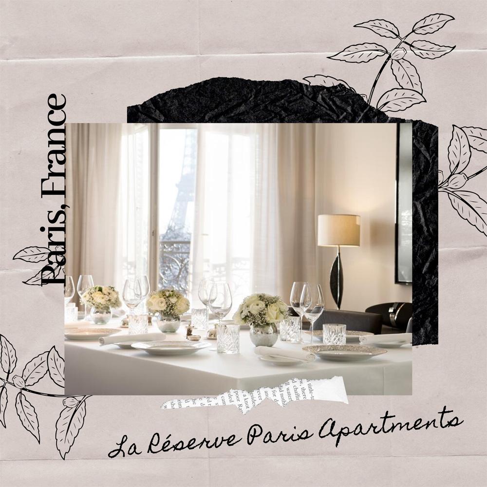 Hotels Near Trains | Paris | La Réserve Paris Apartments