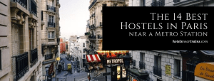 Paris Hostels near Metro