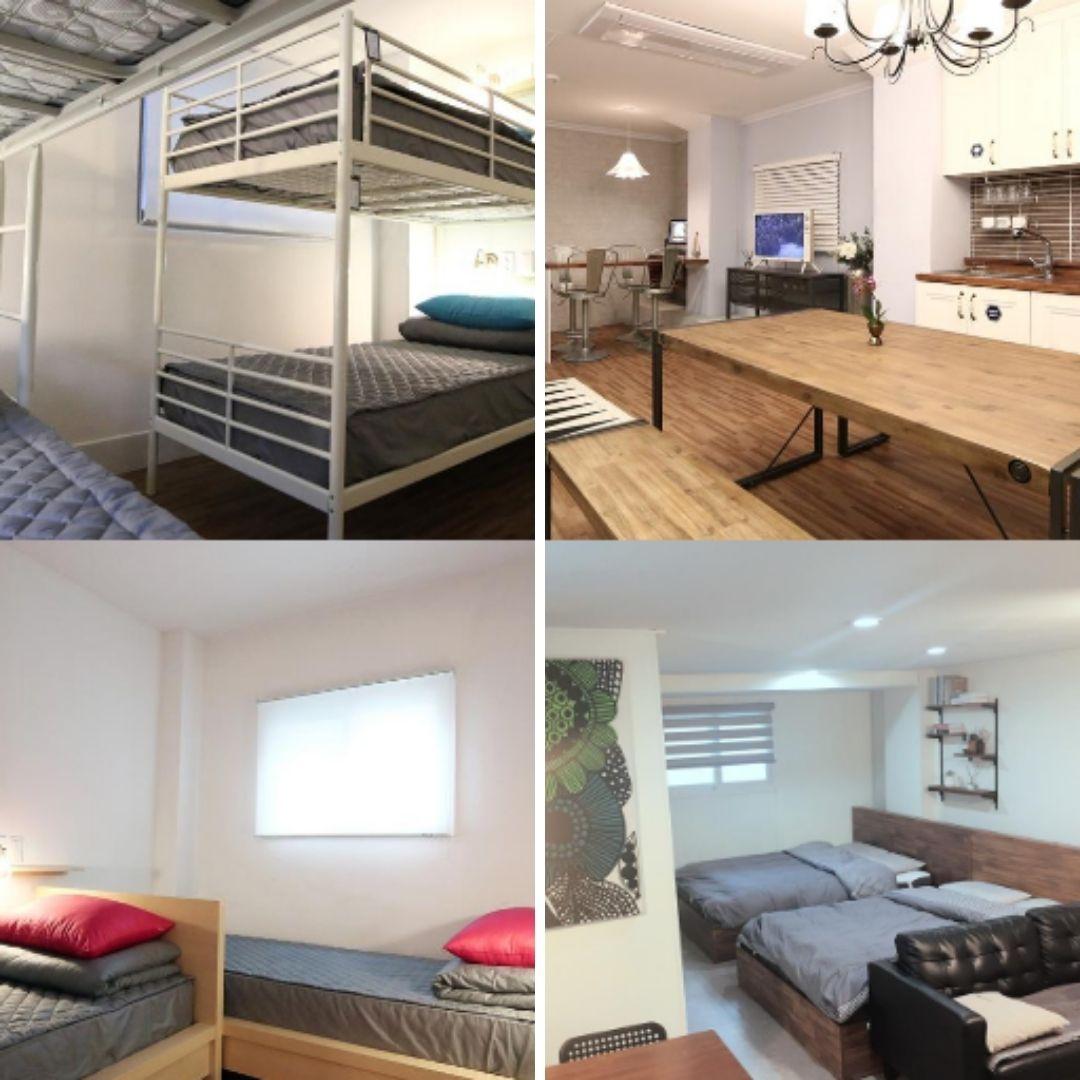 Hotels Near Myeongdong Station - Blue Boat Hostel Myeongdong