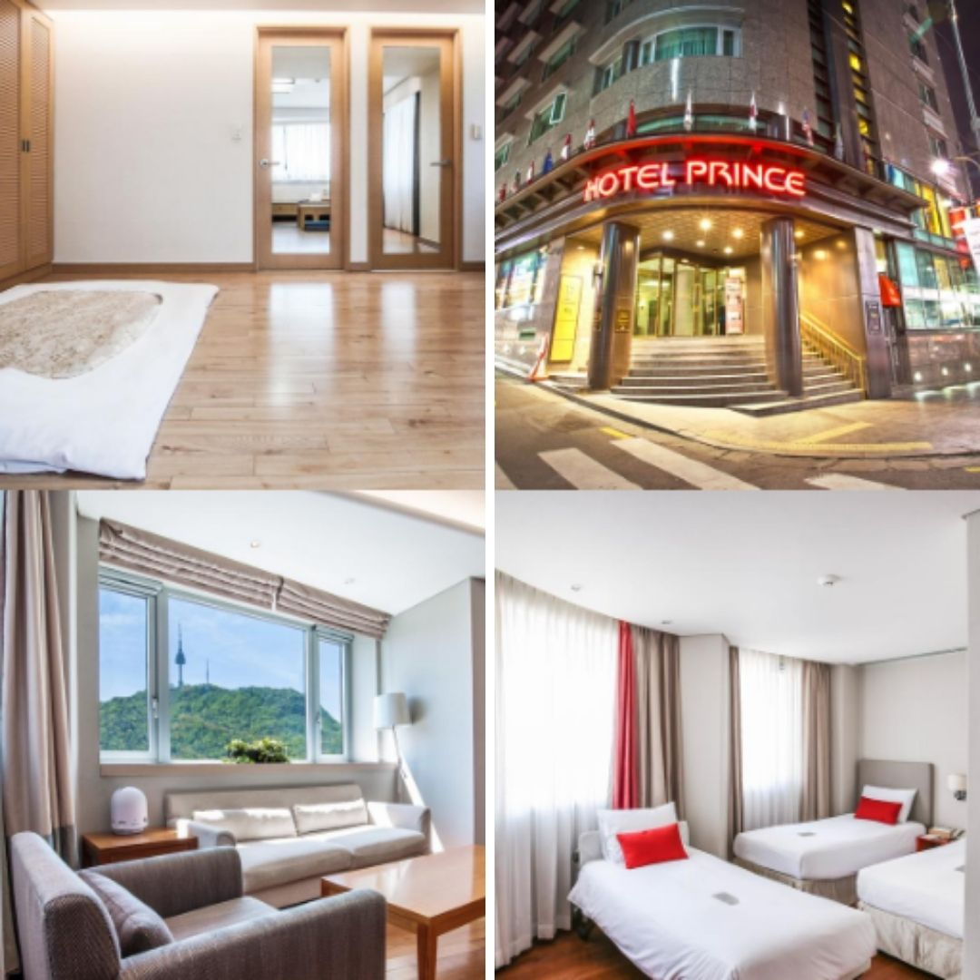 Hotels Near Myeongdong Station - Hotel Prince Seoul
