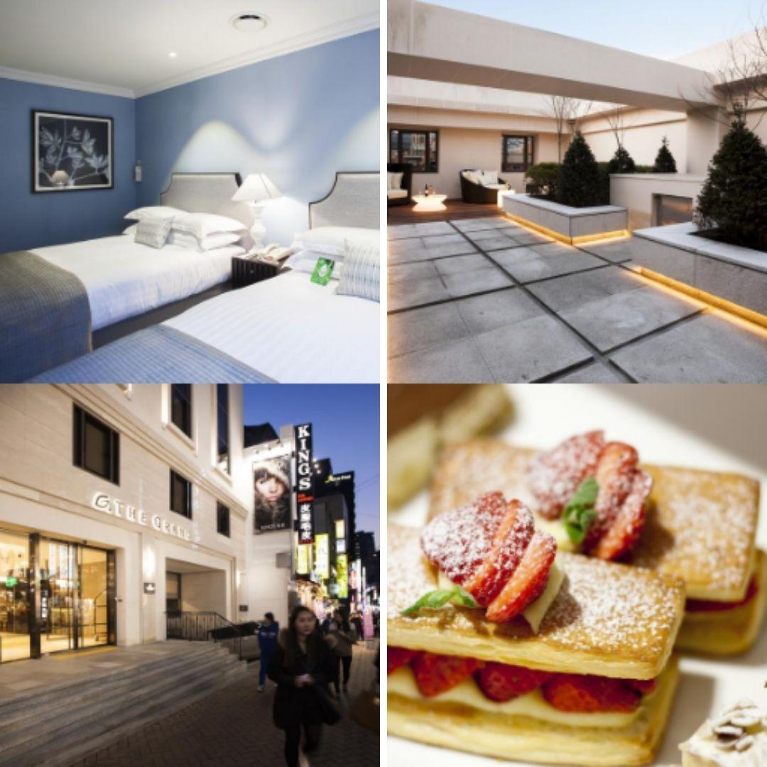 Hotels Near Myeongdong Station - The Grand Hotel Myeongdong
