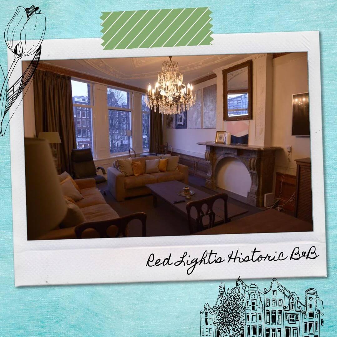 Hotels Near Amsterdam Central Train Station - Red Light's Historic B&B
