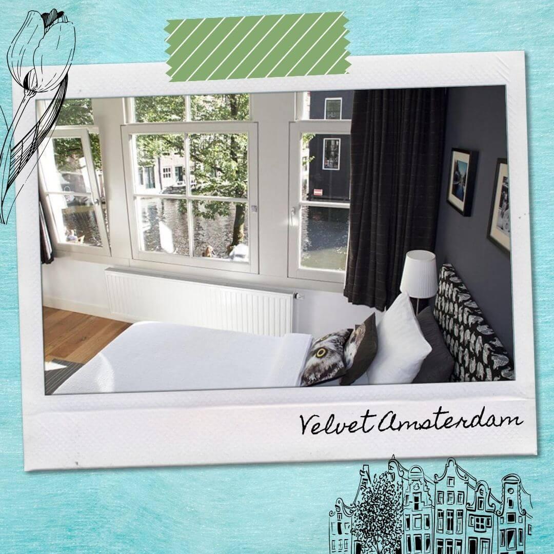 Hotels Near Amsterdam Central Train Station - Velvet Amsterdam