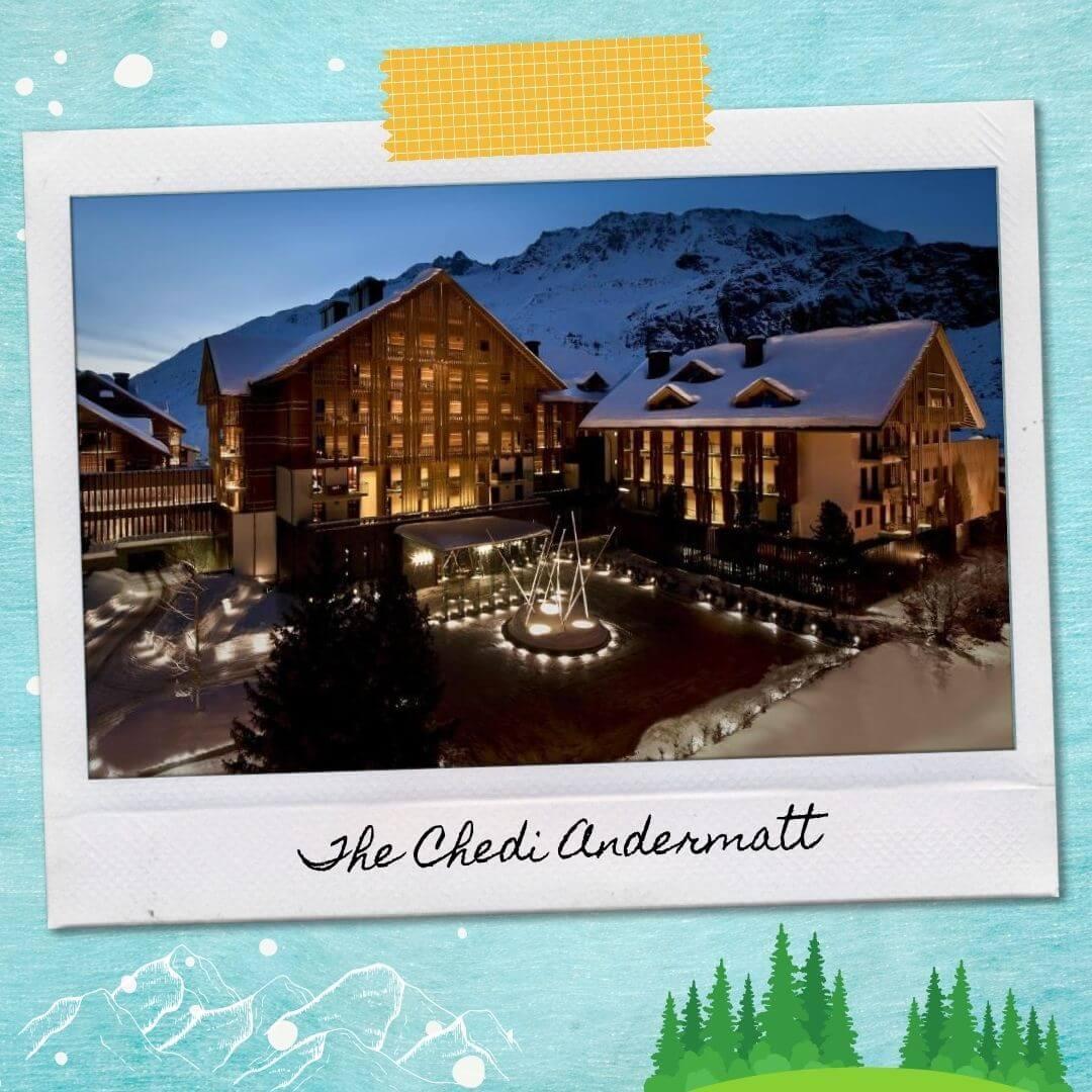 Hotels Near Andermatt Train Station - The Chedi Andermatt