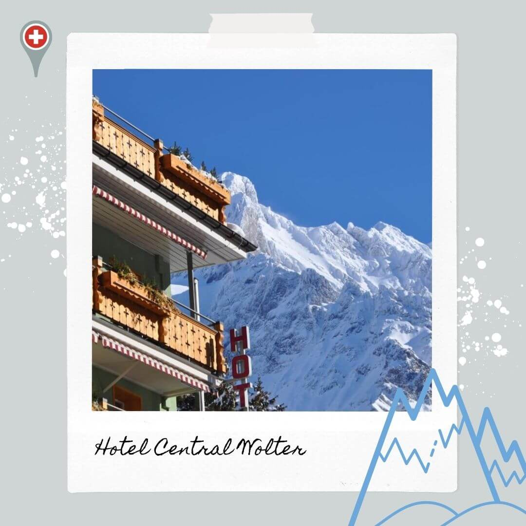 Hotels Near Grindelwald Train Station - Hotel Central Wolter