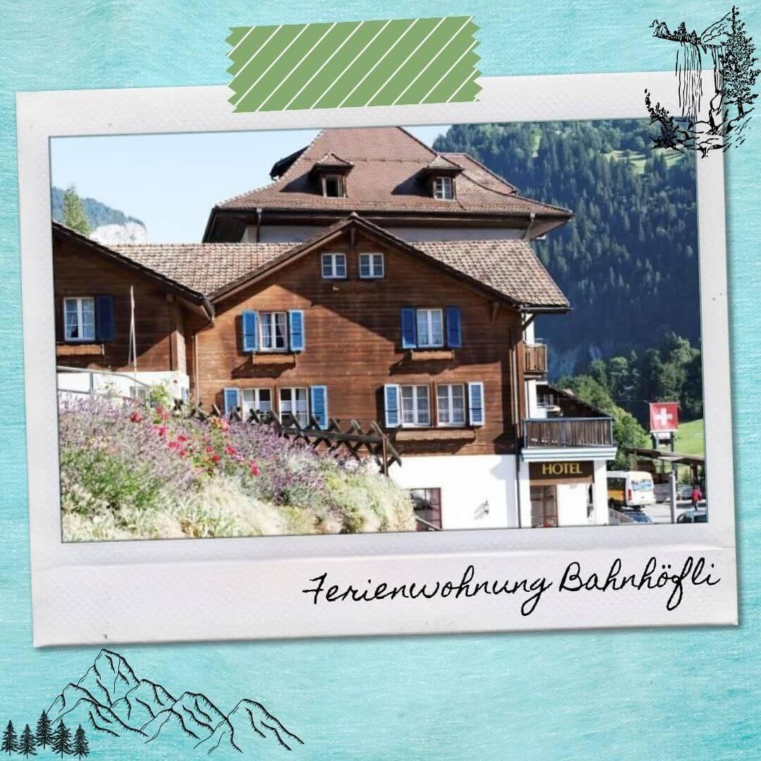Hotels Near Lauterbrunnen Train Station - Ferienwohnung Bahnhöfli