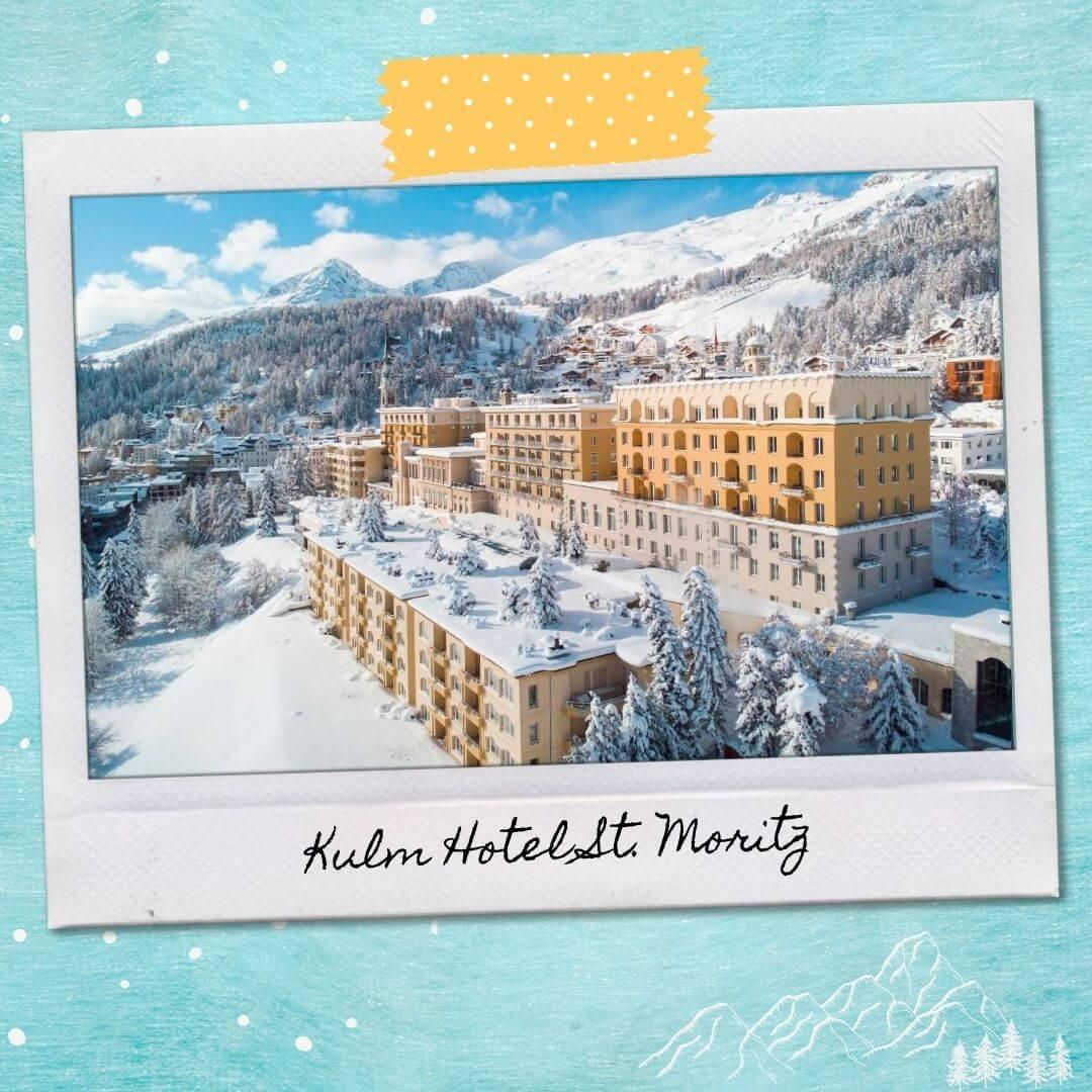 Hotels Near St Moritz Train Station - Kulm Hotel St. Moritz