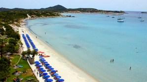 spiaggia privata hotel stella maris villasimius
