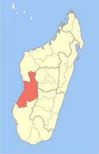 La région du Menabe Madagascar