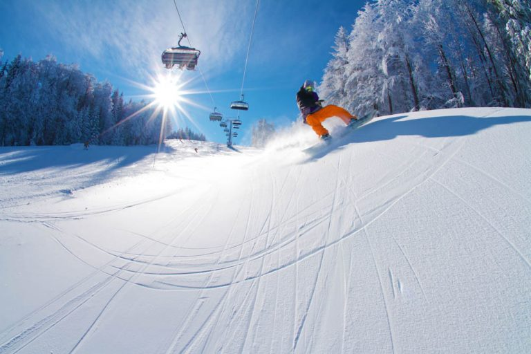 Slovenia Ski Slopes