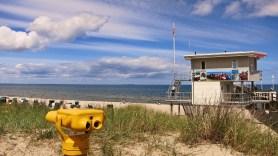 Rettungsturm der Wasserwacht Zinnowitz
