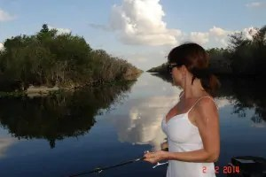 Ava hot wife fishing