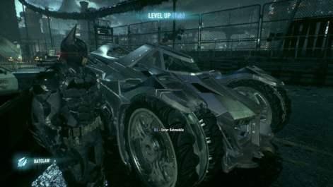 Batman Arkham Knight Batmobile