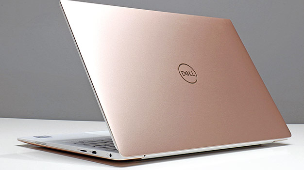 Dell XPS 13 2018 back right edge