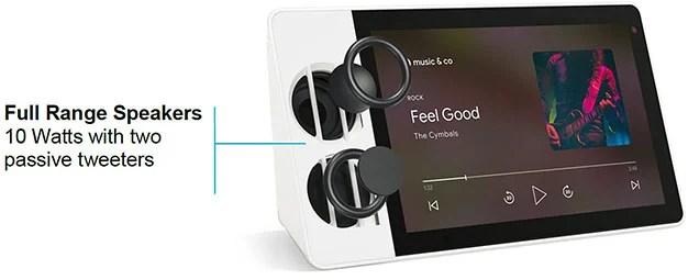 Lenovo Smart Display Speakers 2