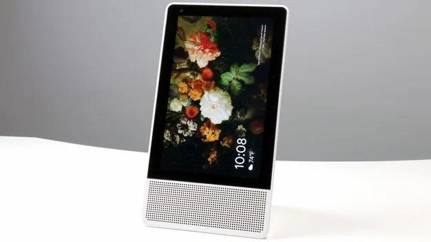 portrait mode Lenovo smart display
