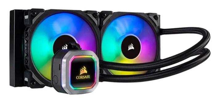 Corsair H100i Rgb Platinum Liquid Cooler Review Powerful And Customizable Hothardware