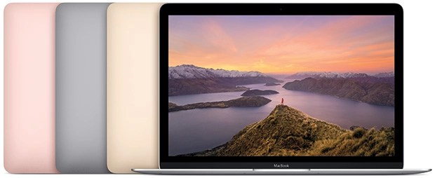 Apple MacBook abierto
