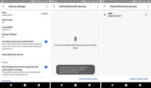 Google Home Bluetooth 2