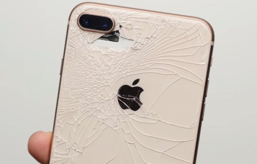 iPhone 8 Cracked